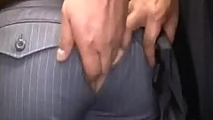 Ripped In Public Bus
