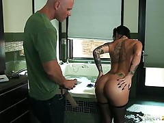 Excellent sex after water procedures for Christy Mack