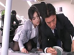 Saori Hara Getting Fucked On Desk