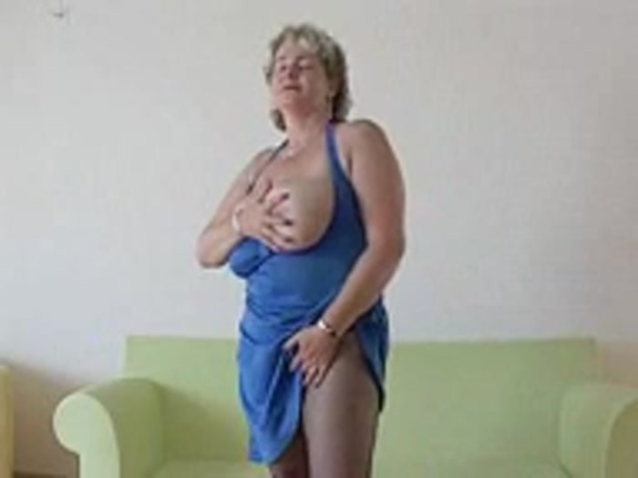image Saggy breasted blonde mature stepmom anal fuc