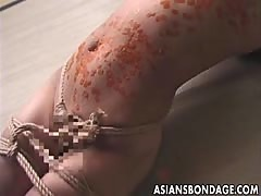 Asian bondage japanese hot wax