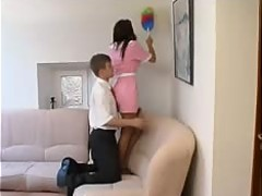 Fuck with young maidservant