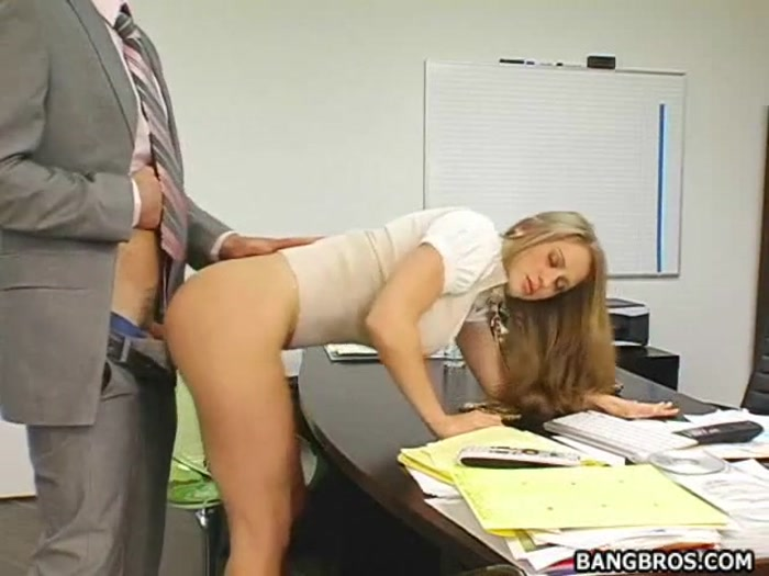 Horny Secretary Fuck The Boss